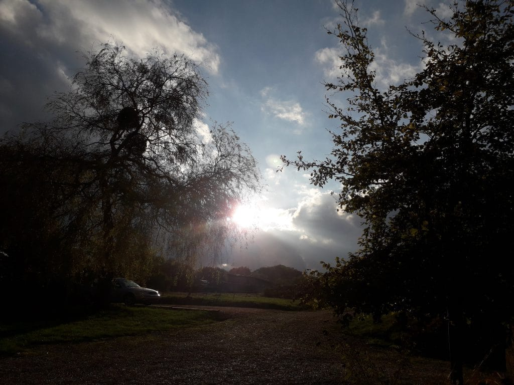 Rayon de soleil à Aubigny
